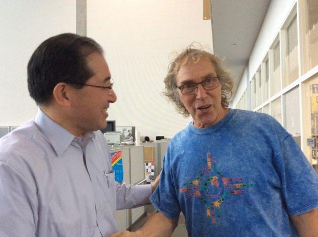 ヒレル先生と木村先生